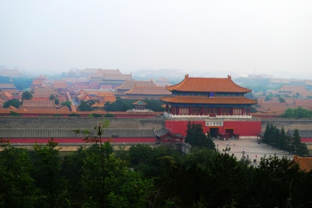 place of interest: the Imperial Palace-the place of interest in China Editorial