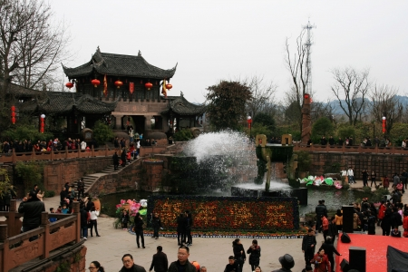 the old town in Chengdu of China Stock Photo - 18045940