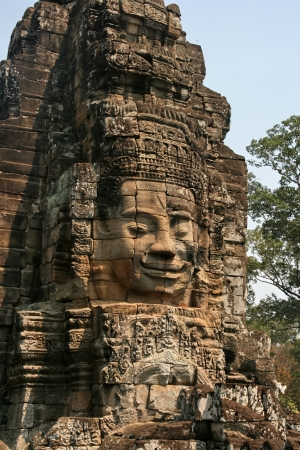 the world cultural heritage: Angkor Wat in Cambodia