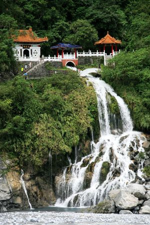 Taroko National Forest Park in taiwan
