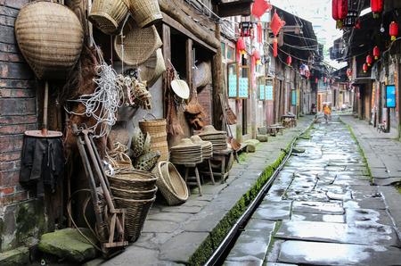 miao: gao miao town in sichuan,china
