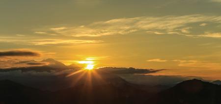pokhara: the sunrise in pokhara,nepal