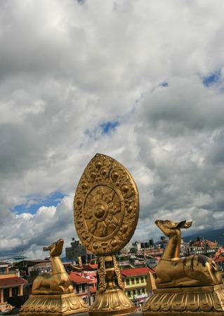 kathmandu: boudhananth in kathmandu,nepal