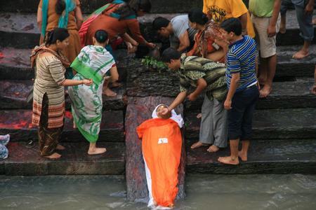 kathmandu: pashupatinath in kathmandu,nepal