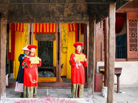 confucian: confucian temple in guilin, china