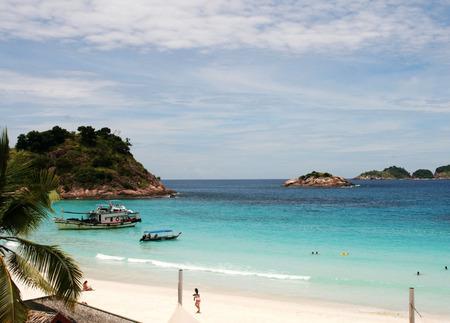 pulau: Beach at the Pulau Redang, Malaysia Stock Photo