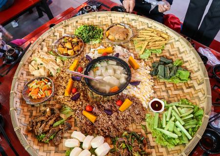 feast: National feast in Tengchong, Yunnan, China