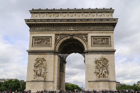 triumphal: Triumphal Arch in Paris, France