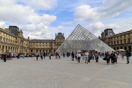 louvre: Le Louvre Museum, Paris, France Editorial