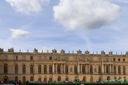 versailles: palace of versailles in paris,france