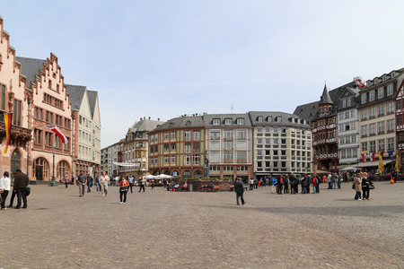 Rome square in frankfurt, germany