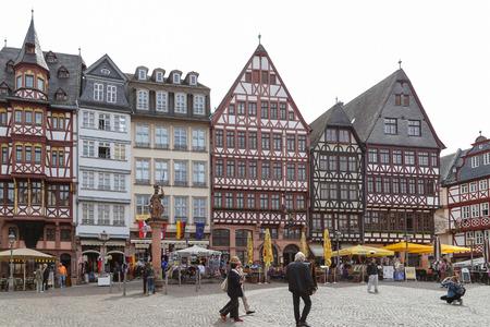 프랑크푸르트, 독일의 Luo Ma 광장