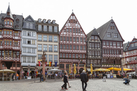 Luo Ma square in frankfurt, germany
