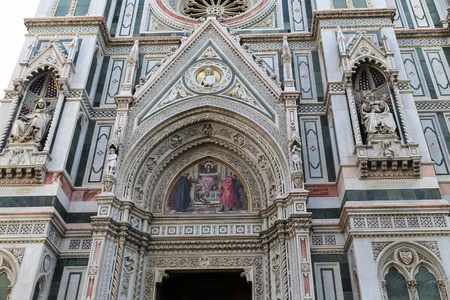 florence: the sculpture in florence,italy