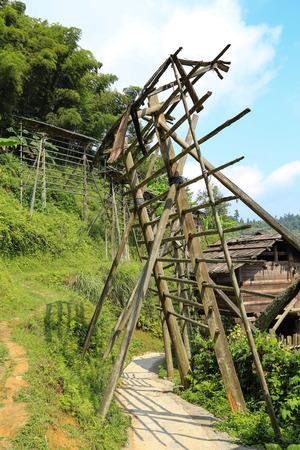 miao: ba Sha miao village ,guinzhou province,china