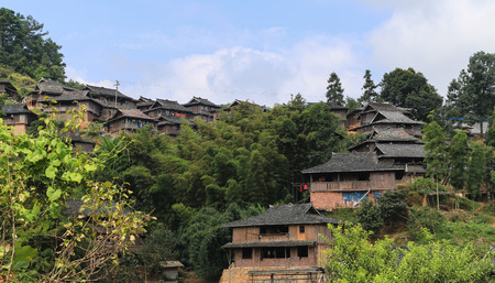 ba: ba Sha miao village ,guinzhou province,china