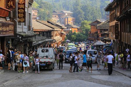 miao: xijiang miao village ,guizhou,china Editorial