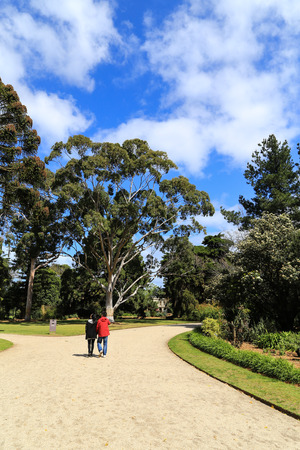 melbourne australia: landscape in werribee park,melbourne,australia