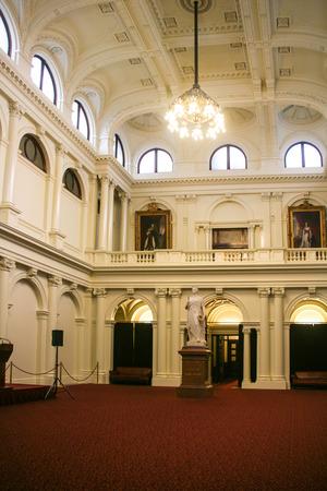 the parliament: parliament house in melbourne,australia Editorial