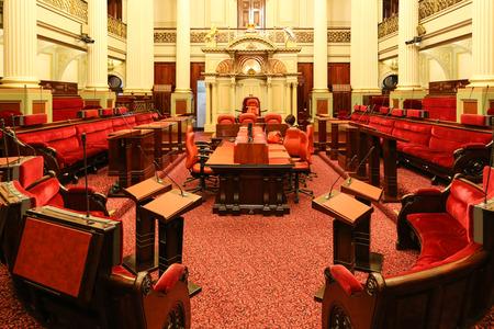 melbourne australia: parliament house in melbourne,australia Editorial