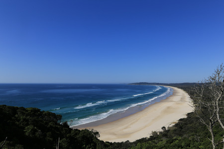 byron: The landscape view in Cape Byron, Australia