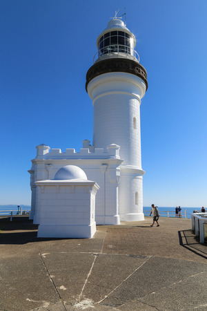 byron: The view of lighthouse in Cape Byron, Australia