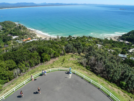 byron: the landscape in cape byron,australia