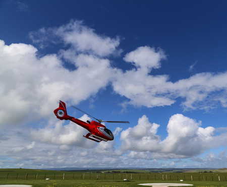 heliport: the heliport in campbell national park,australia