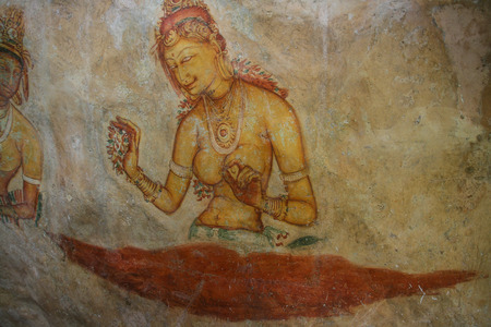 valuables: the mural on mirror wall in sri lanka
