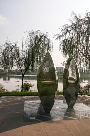 chengdu: the landscape in a park ,chengdu,china