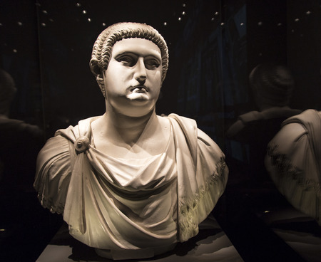 ancient relics: Ancient Rome cultural relics exhibition in the musuem,chengdu,china