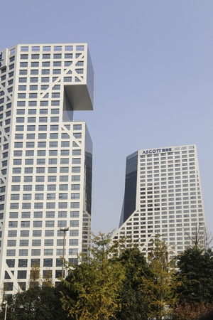 chengdu: cityscape in chengdu,china Editorial