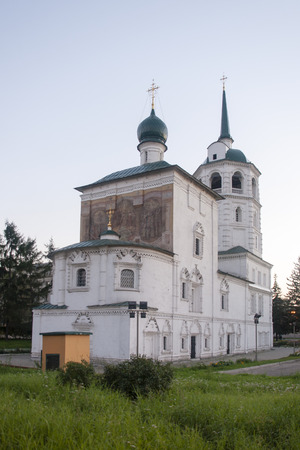 the federation: cathedral of christ the saviour in Irkutsk ,russian federation