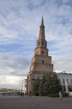 kazan: Leaning tower in Kremlin, Kazan, Russian Federation