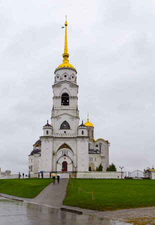 vladimir: cathedral of the virgin mary in vladimir,russia federation