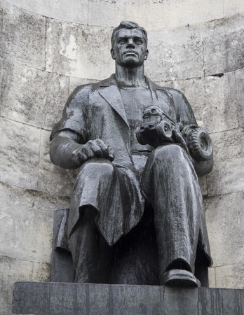 the statue of prince vladimir in the monument,vladimir russian federation