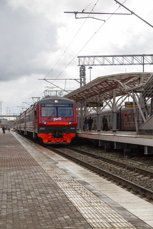 kazan: kazan railway station in russian federation