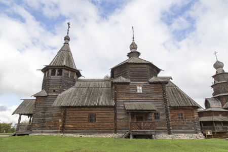 the museum of wooden architecture in suzdal,russian federation