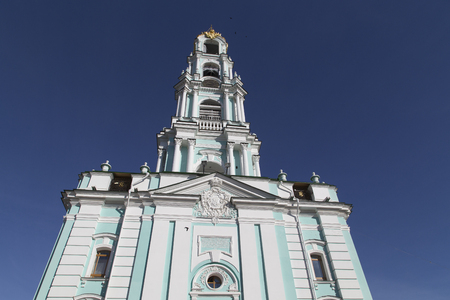 bell tower in sam sergei abbey,russian federation