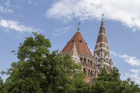 Szeged Cathedral in hungary