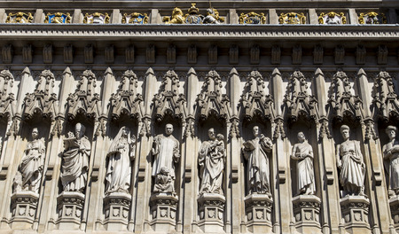 The sculpture in Westminster Abbey, london
