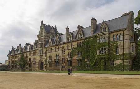 The landscape in university of oxford