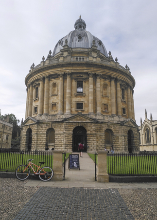 The library in university of oxford , united kingdom