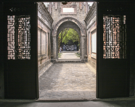 Ancient town of anren,china Editorial