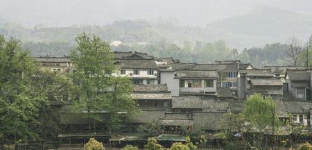 Ancient town of liujiang in sichuan,china