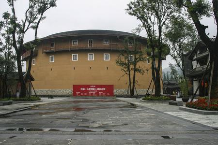 Wheelbarrow in luodai ancient town,china