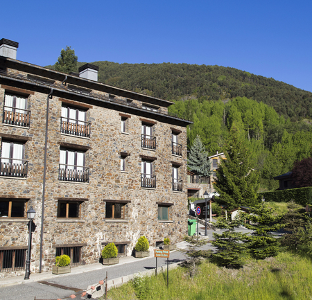 Archiecture in andorra 에디토리얼