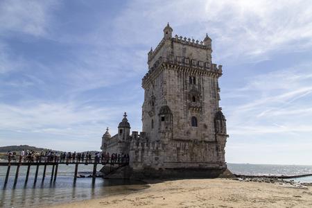 Tower of belem in lisbon,portual Redakční