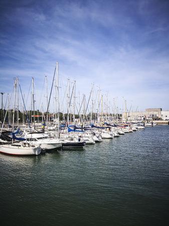 The wharf in lisbon,portugal