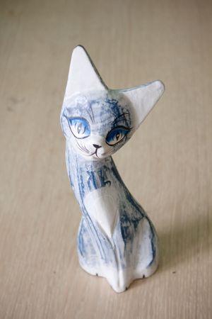 wooden kitty photo